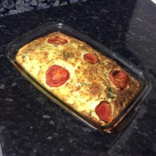 Spinach, Cheese, Egg Bake